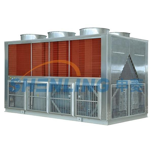 Anti-vibration air-cooled chiller