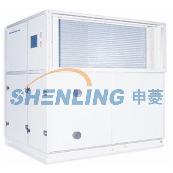 High efficient fresh-air unit for hydropower station
