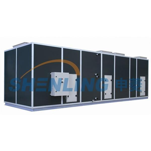 High efficient air conditioning terminal unit for hydropower station
